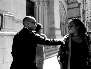 9.12.14: Dr. Khalil G. Muhammad, Director of the Schomburg Center. Dr. Maya Angelou's Memorial Service, Riverside Church. Harlem, NY