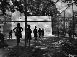 Pre-game practice session / Uptown Challenge - Women's Basketball League / Harlem, NY / ©2018 Diane Allford