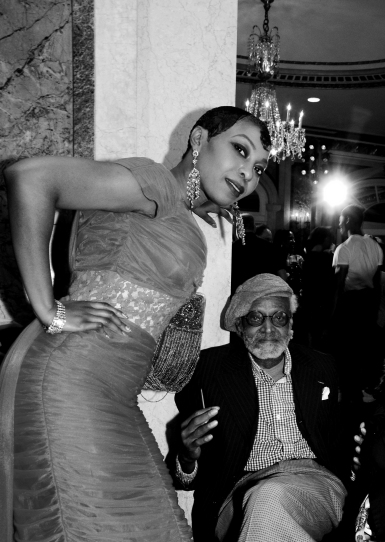 Actor, playwright, film director, Melvin Van Peebles. New York Plaza Hotel / ©2018 Diane Allford