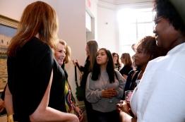 Angela Davis Elizabeth Sackler and Gloria Steinem, meet young activist from Girls for Gender Equality.