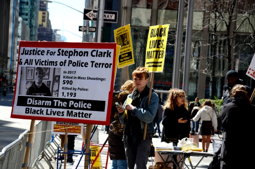 Justice For Stephon Clark / March For Our Lives Rally, New York / ©2018 Diane Allford