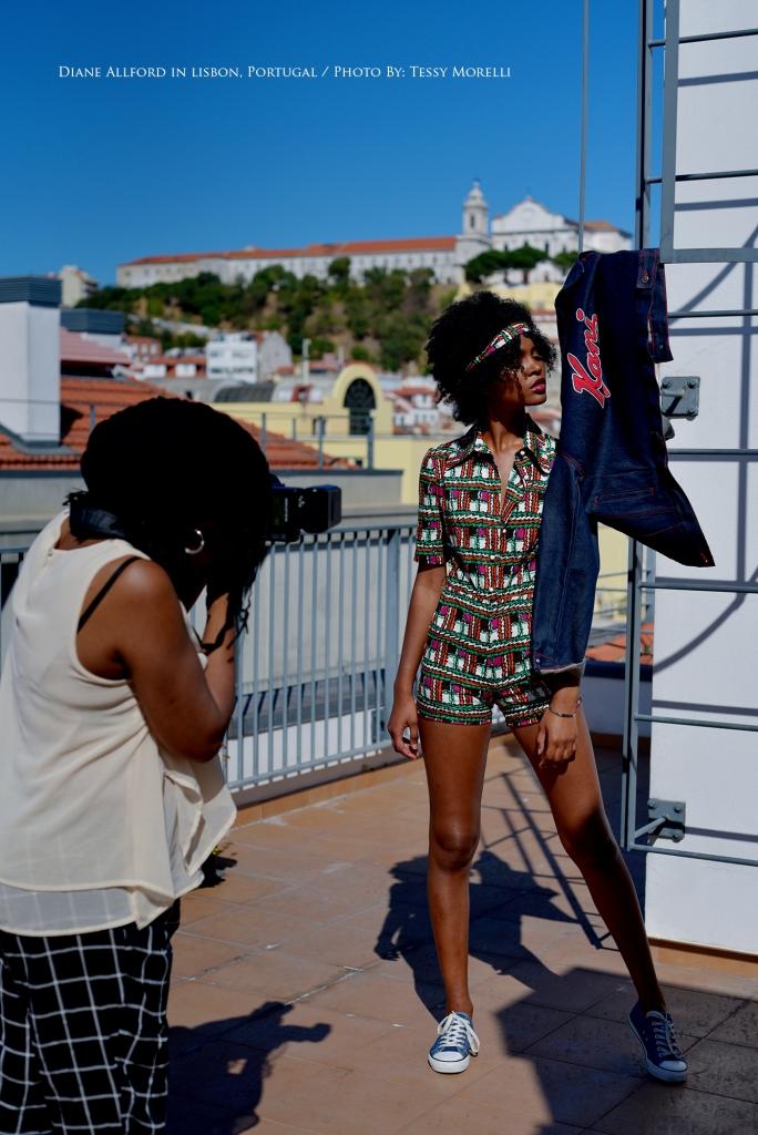 Urban Chic Fashion Shoot / Lisbon, Portugal